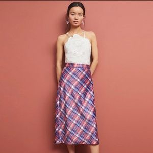 HUTCH by Anthropologie• Plaid Skirt• Size 6